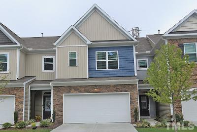 Morrisville Townhouse Contingent: 5424 Jessip Street