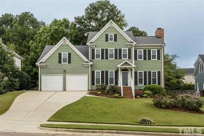Cary Single Family Home Contingent: 108 Plumtree Way