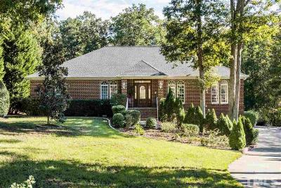 Raleigh Single Family Home For Sale: 5121 Forest Garden Lane