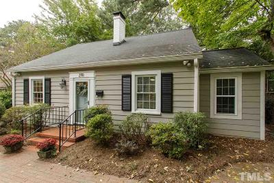 Durham County Single Family Home Contingent: 2110 Wilson Street