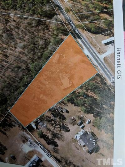 Harnett County Residential Lots & Land For Sale: 193 Gilchrist Road