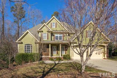 Holly Springs Single Family Home Contingent: 120 Holly Glade Circle