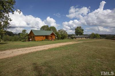 Louisburg Single Family Home For Sale: 190 Old Express Road