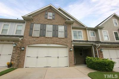 Cary Townhouse For Sale: 3622 Stonebend Loop