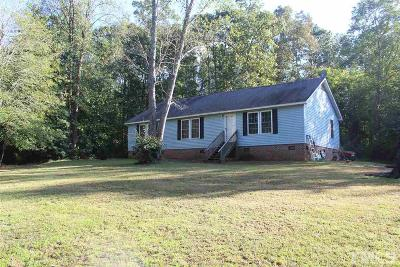 Pittsboro Manufactured Home For Sale: 406 Country Routt Brown Road