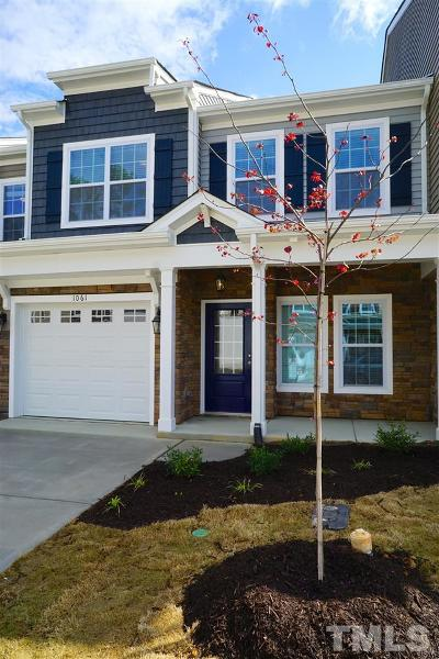 Fuquay Varina Townhouse For Sale: 537 Barneswyck Drive