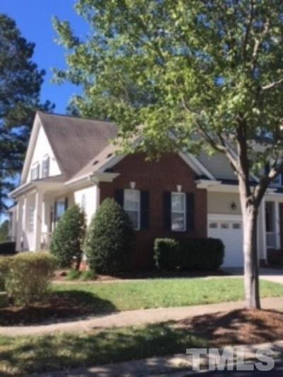 Wake Forest Townhouse For Sale: 1310 Fairview Club Drive