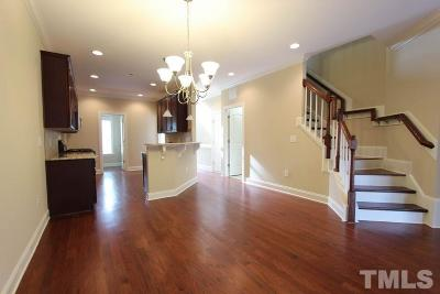 Fuquay Varina Townhouse For Sale: 545 Barneswyck Drive