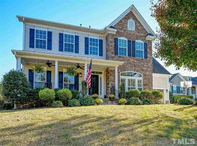 Cary Single Family Home Contingent: 233 Hilliard Forest Drive