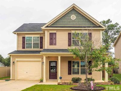 Clayton NC Single Family Home For Sale: $208,000