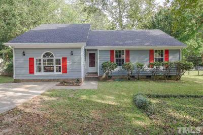 Garner Single Family Home For Sale: 1013 Buckhorn Road