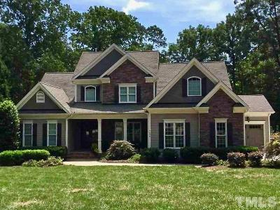Wake County Single Family Home For Sale: 7609 Stone Horse Circle