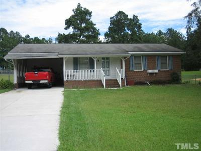 Harnett County Single Family Home For Sale: 474 Old Stage