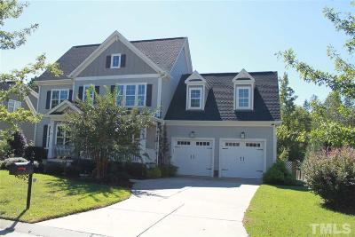 Holly Springs Single Family Home For Sale: 504 Wanderview Lane