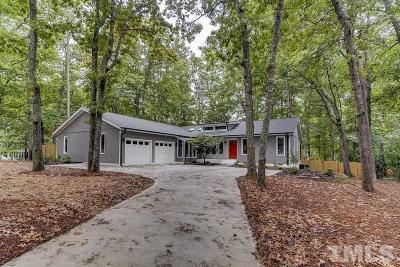 Wake County Single Family Home For Sale: 8001 Shellnut Road