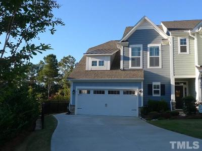 Holly Springs Townhouse For Sale: 108 Ribbon Walk Lane