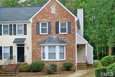 Chapel Hill Townhouse Contingent: 5 Forest Glen Drive