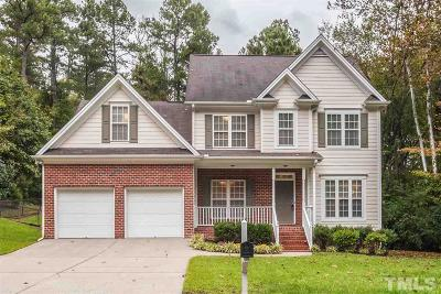 Durham Single Family Home Contingent: 3820 King Charles Road