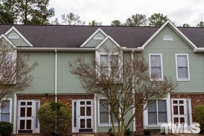 Durham County Townhouse For Sale: 36 Parson Chase Lane