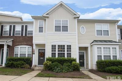 Raleigh Townhouse Contingent: 7879 Spungold Street