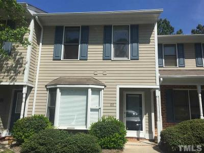 Durham County Townhouse For Sale: 69 Forest Oaks Drive