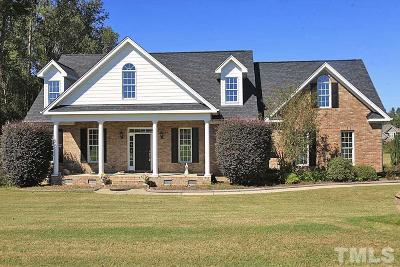 Holly Springs Single Family Home Contingent: 5124 Bartizan Drive