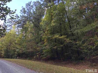Chapel Hill Residential Lots & Land For Sale: Lot 2 Walnut Cove Road