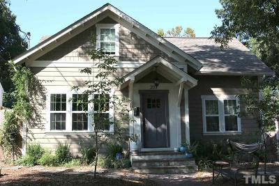 Durham Single Family Home For Sale: 207 Northwood Circle