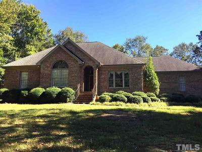 Angier Single Family Home For Sale: 81 Whit Court