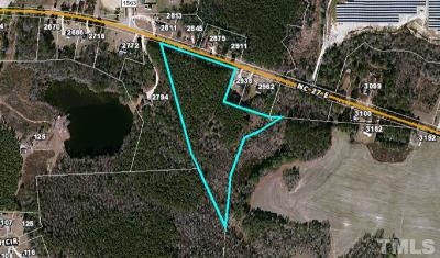 Harnett County Residential Lots & Land For Sale: Nc 27 Highway