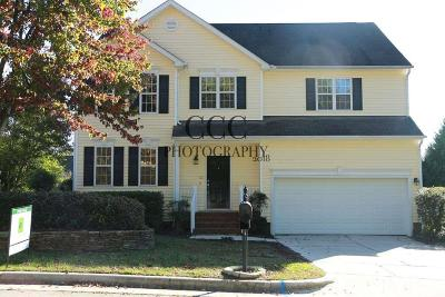 Raleigh NC Single Family Home For Sale: $358,900
