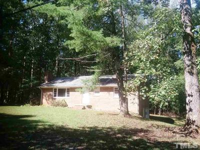 Single Family Home For Sale: 6343 Thom Road