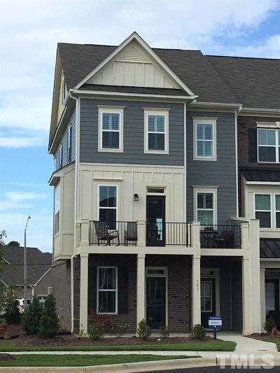 Holly Springs Townhouse Pending: 701 Old Ride Drive