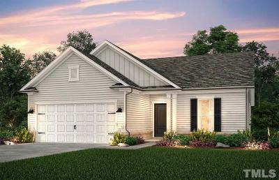 Fuquay Varina Single Family Home For Sale: Attend Crossing #Lot 118