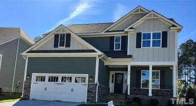 Holly Springs Single Family Home Contingent: 320 Quarryrock Road