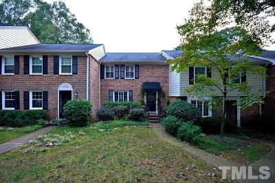 Raleigh NC Townhouse For Sale: $270,000