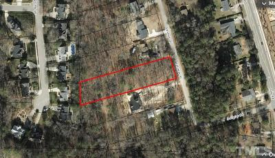 Raleigh Residential Lots & Land For Sale: 7609 Valview Street