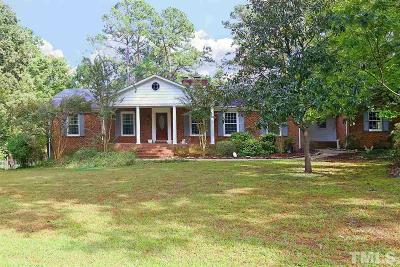 Raleigh Single Family Home For Sale: 3024 Villawood Circle