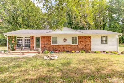 Wendell Single Family Home For Sale: 103 Griffin Drive
