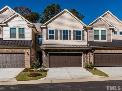 Cary Townhouse For Sale: 817 Rymark Court