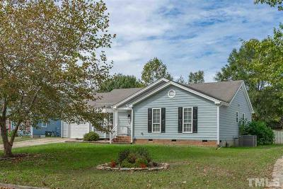 Knightdale Single Family Home Contingent: 110 Heathwick Drive