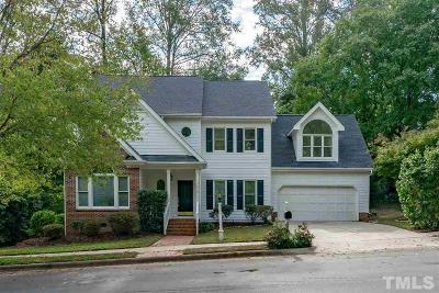 Wake County Single Family Home For Sale: 7816 Tylerton Drive
