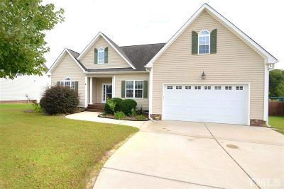 Willow Spring(s) Single Family Home For Sale: 73 Baldwin Ridge Court
