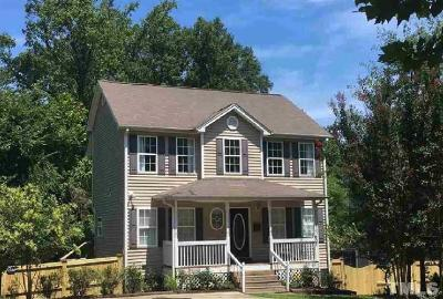 Durham Single Family Home For Sale: 607 Dupree Street