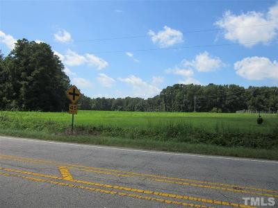 Johnston County Residential Lots & Land Pending: 2.18 Acres Nc 39 Highway