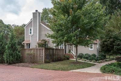 Raleigh Townhouse For Sale: 5949 Sentinel Drive
