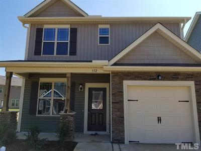 Johnston County Rental For Rent: 152 McDowell Parkway