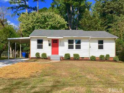 Raleigh Single Family Home For Sale: 2217 Millbank Street