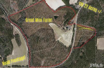 Harnett County Residential Lots & Land For Sale: 8374 McDougald Road