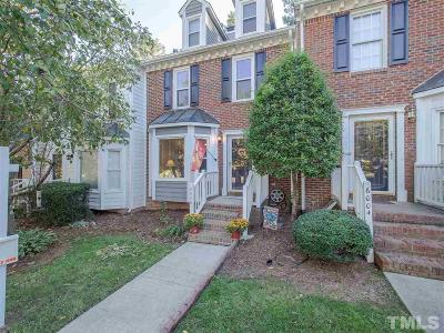 Raleigh Townhouse For Sale: 6006 Epping Forest Drive